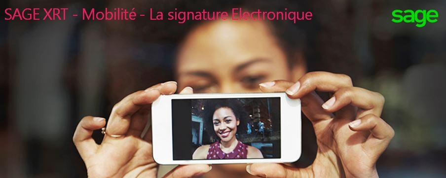 Signature électronique mobile Sage XRT