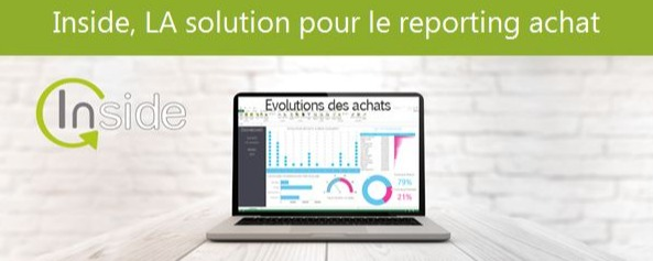 Inside Reporting, solution pour le reporting achat