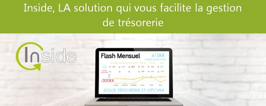 Inside Tresorerie, la solution de reporting de trésorerie
