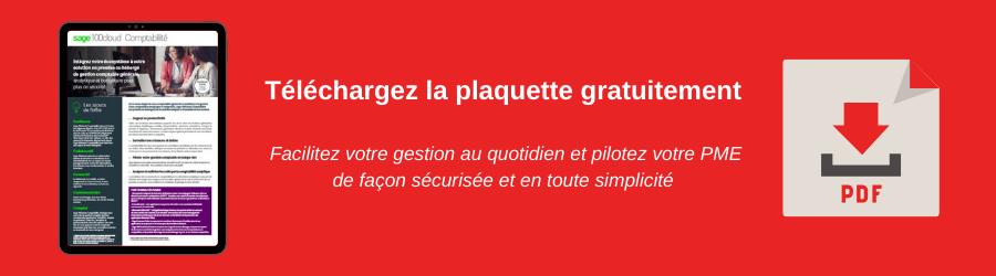 Plaquette Sage 100cloud Comptabilité